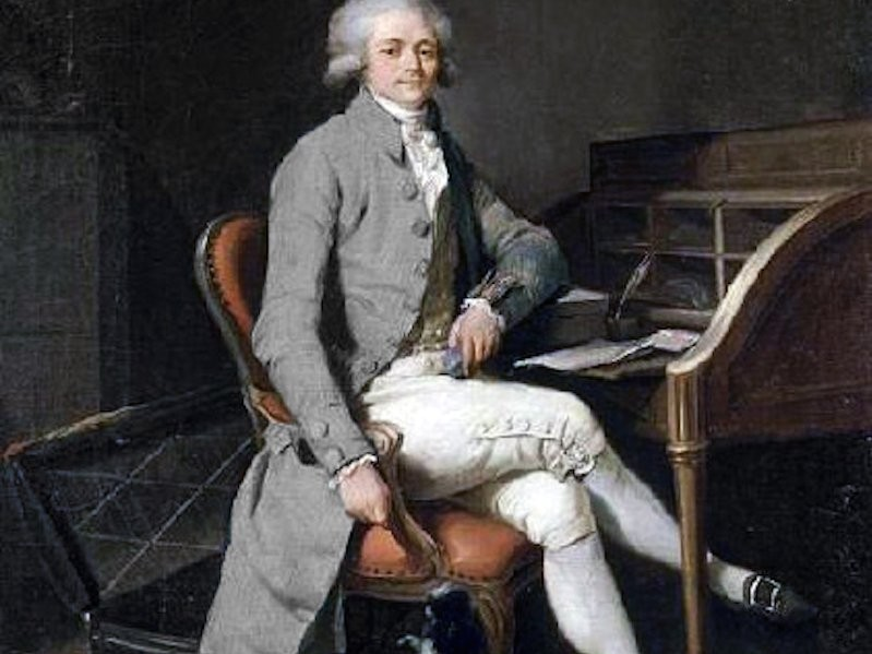 maximilien robespierre the incorruptible leader