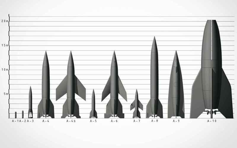 Ракеты А9/А10 – Фау-3