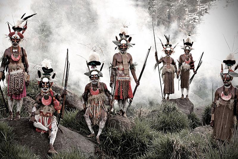 Горока, Индонезия и Папуа-Новая Гвинея