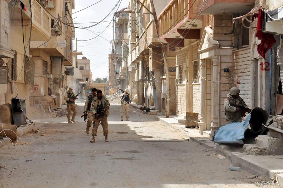Правительственные силы Сирии, 27 марта 2016.