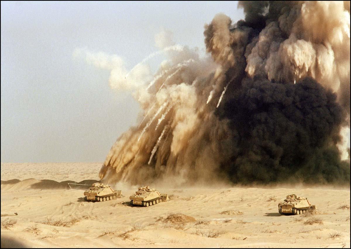 "Война в Заливе. Операция ""Буря в пустыне"" — $102 миллиарда"