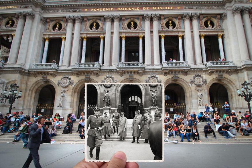 Парижская Опера-Гарнье, 1940