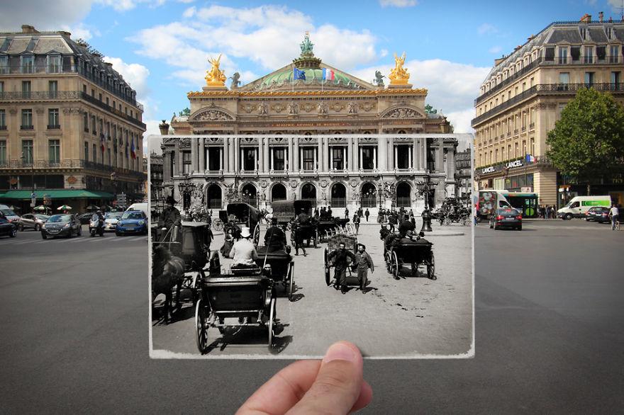 Парижская Опера-Гарнье, 1900