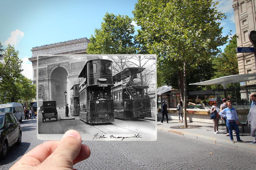 Триумфальная арка, 1909