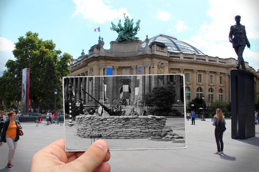 Большой дворец Гран-Пале, 1944
