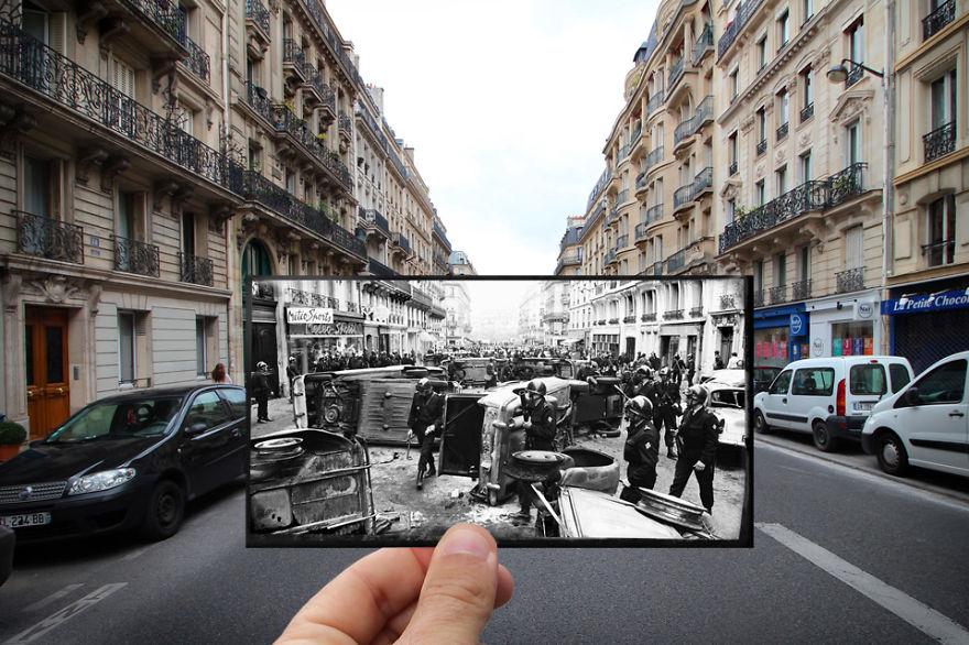 Улица Рю Гей-Люссак, 1968
