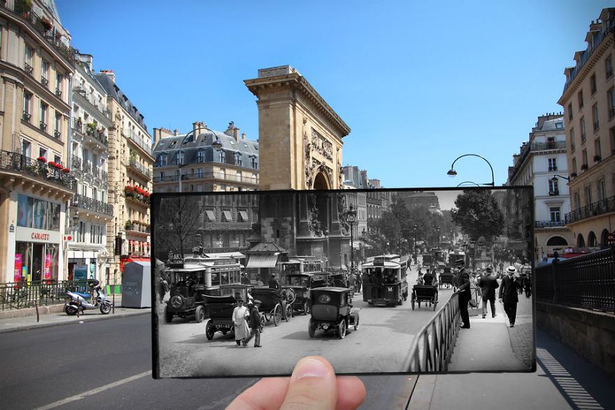 Бульвар Сен-Дени, 1910