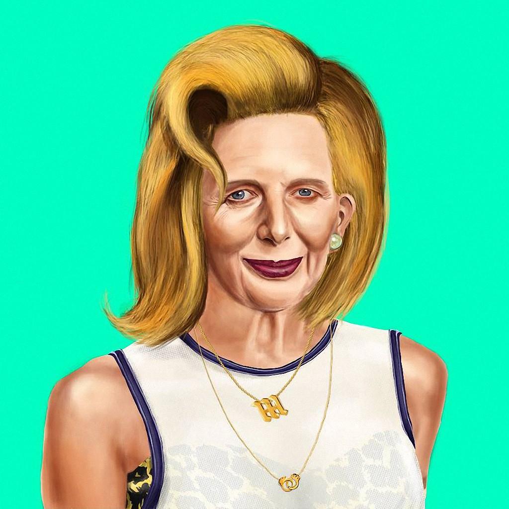 Маргарет Тэтчер — «железная леди», премьер-министр Великобритании