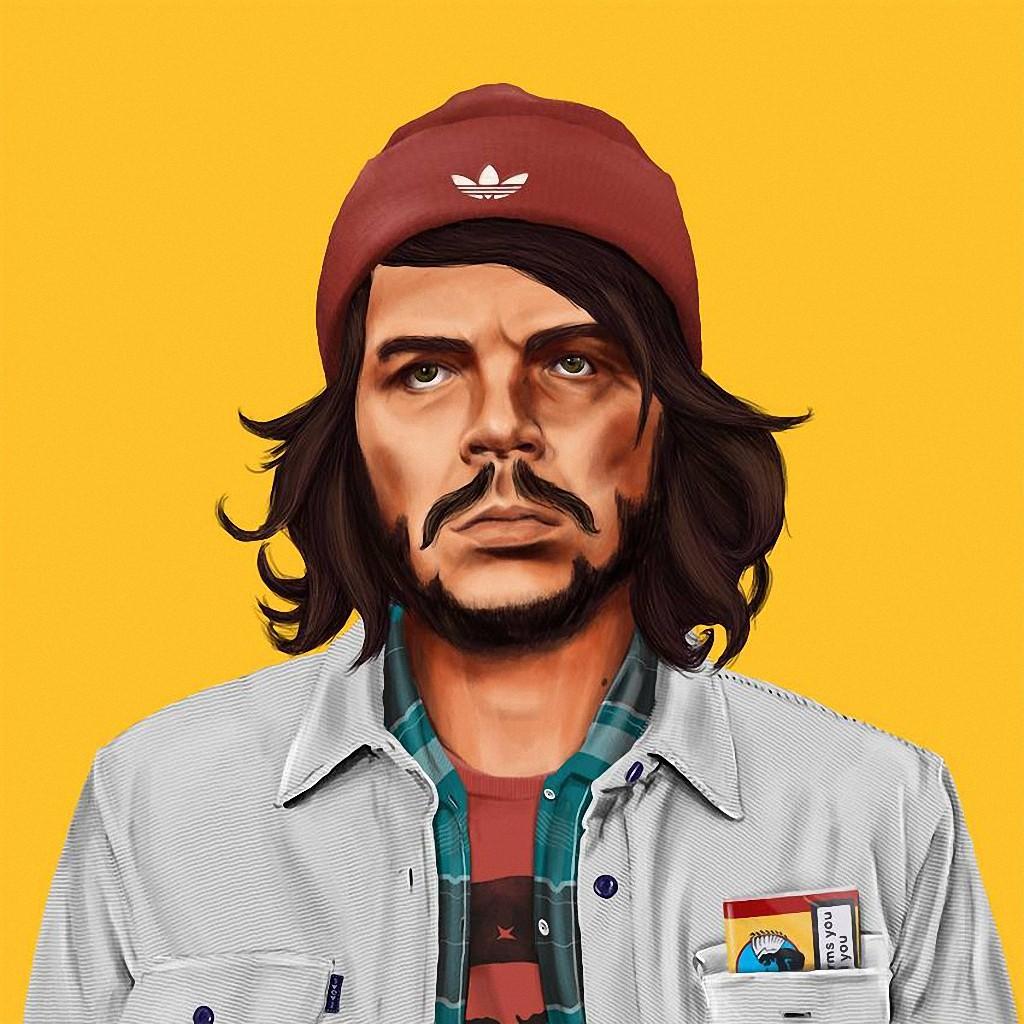 Че Гевара — кубинский революционер в шапке