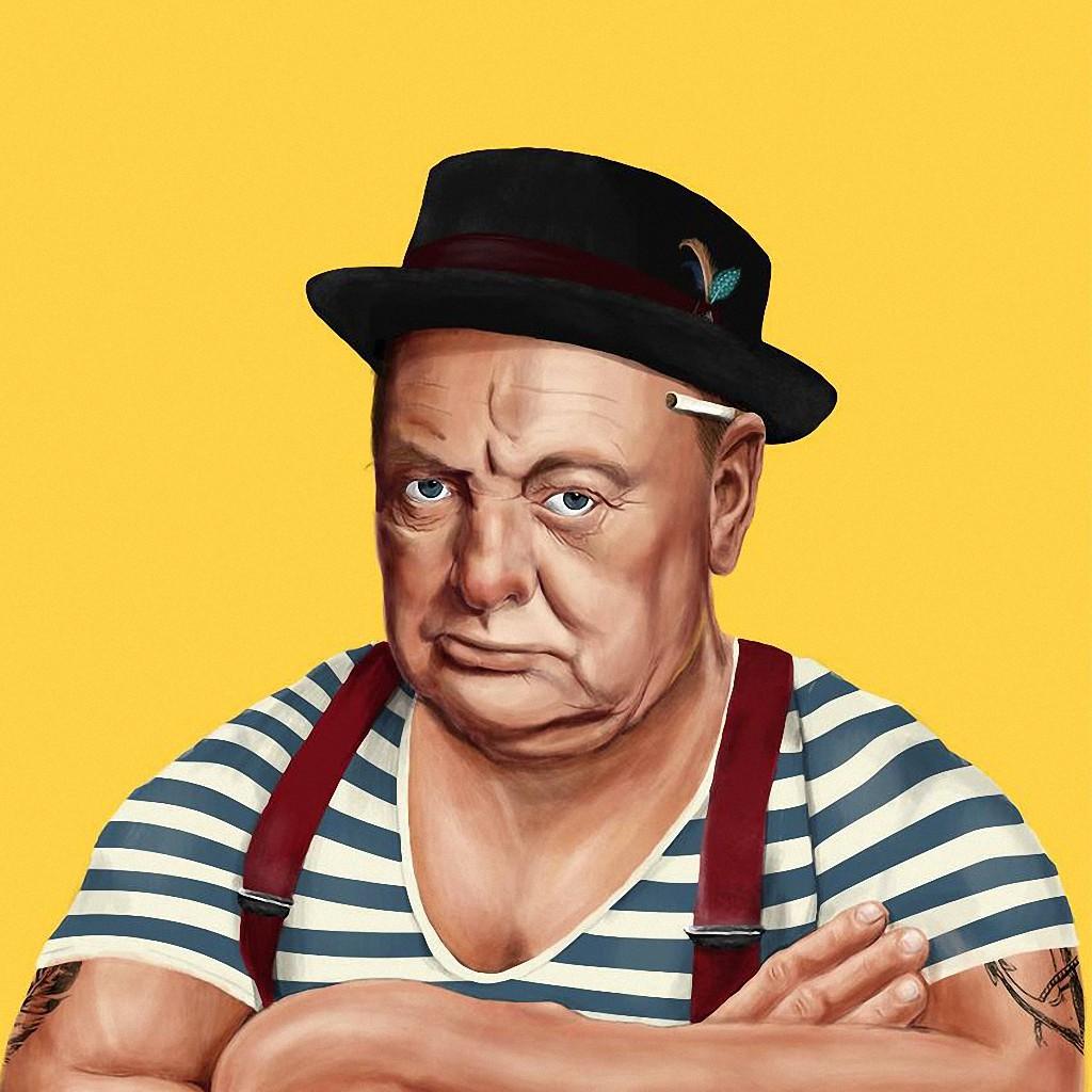 Уинстон Черчилль — премьер-министр Великобритании и лауреат Нобелевской премии в области литературы