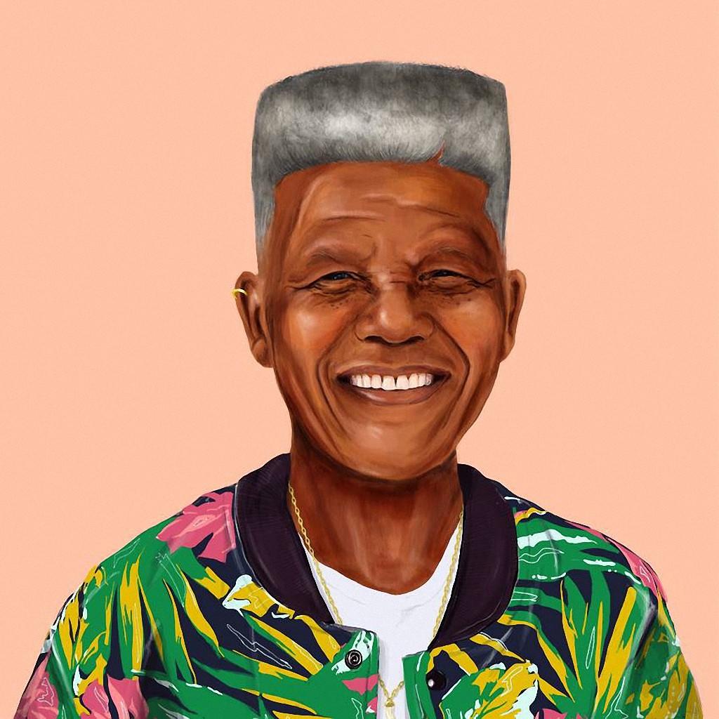 Нельсон Мандела — самый известный в мире активист в борьбе за права человека и лауреат Нобелевской премии мира