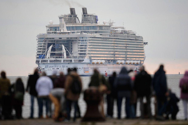 """Крупнейший в мире круизный лайнер """"Гармония морей"""""""