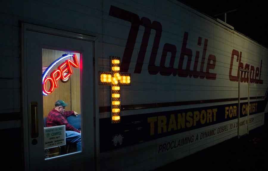 Победитель в категории «Американский опыт»: Часовня на колесах. Фото: Lauren Pond.
