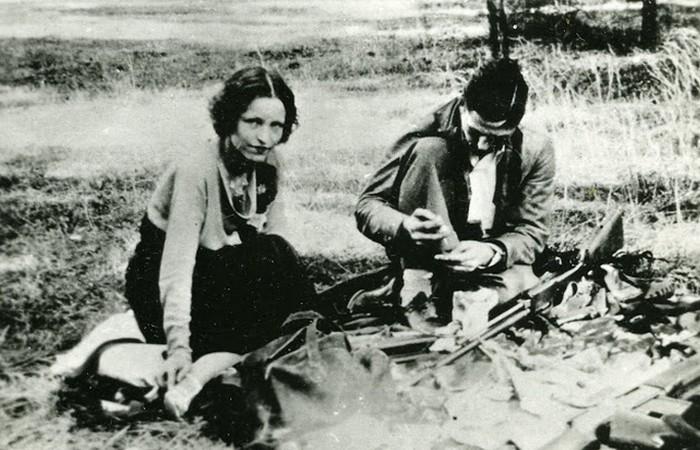 бонни и клайд фото убитых