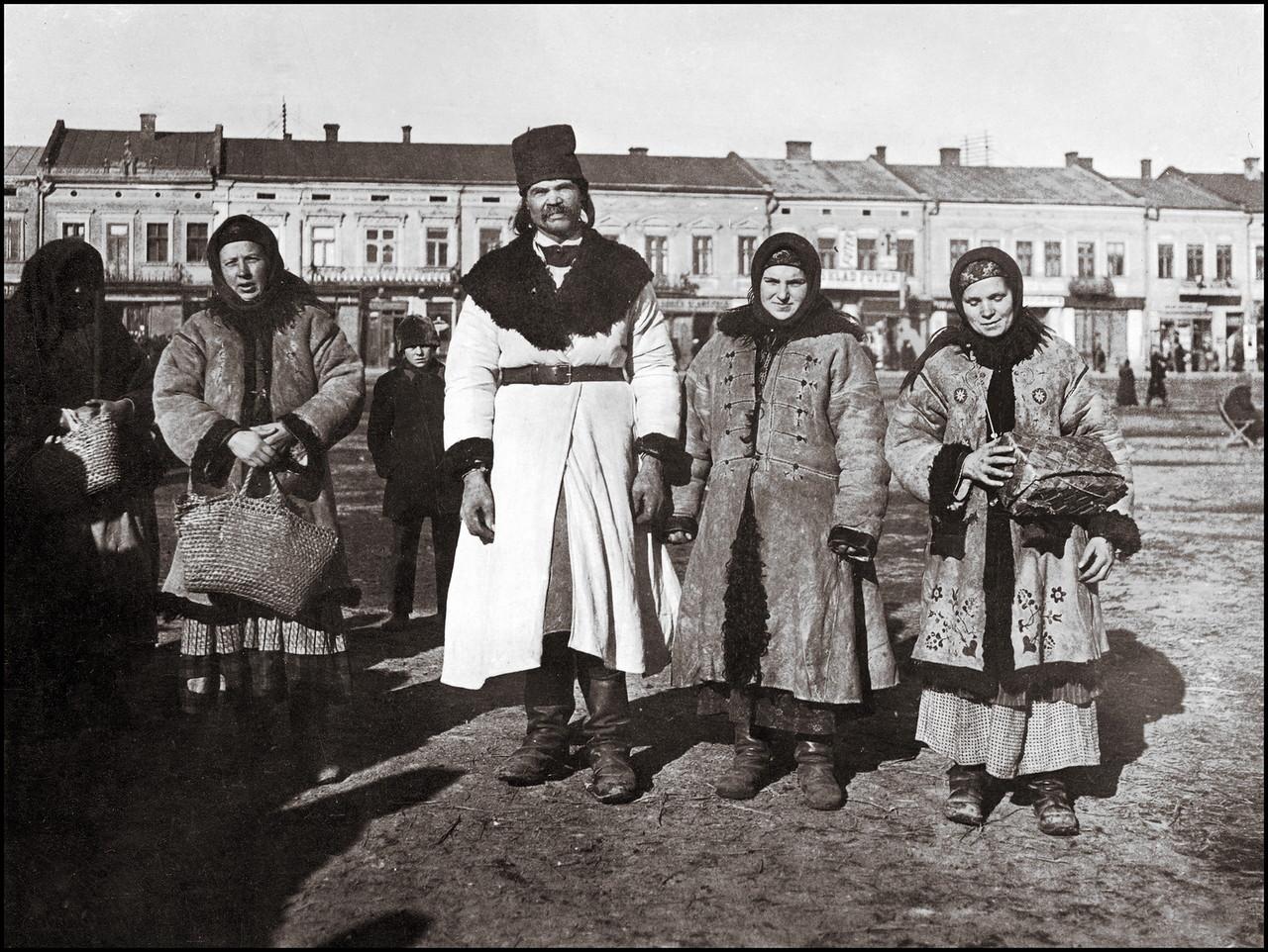 Русины в воскресный день