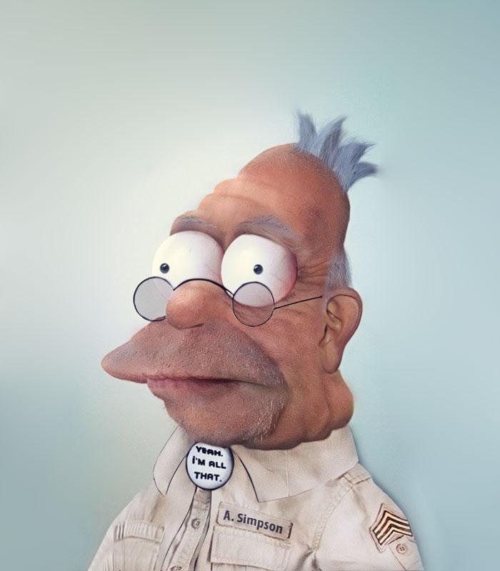 Дедушка из Симпсонов