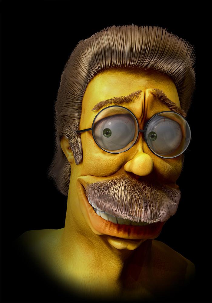 Нед Фландерс из Симпсонов
