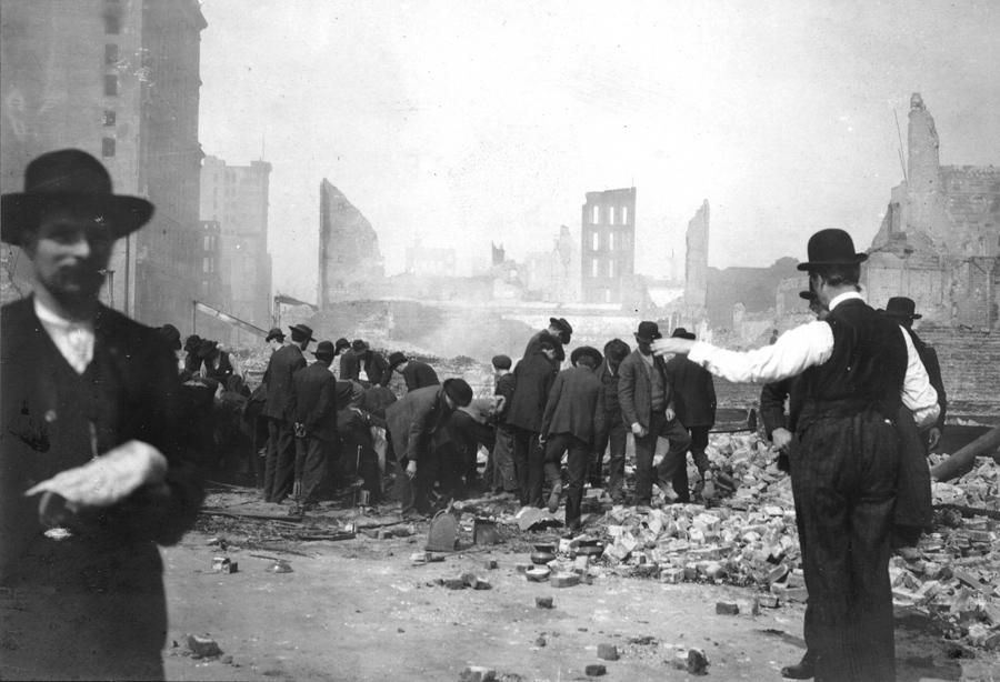 Землетрясение в Сан-Франциско 110 лет назад