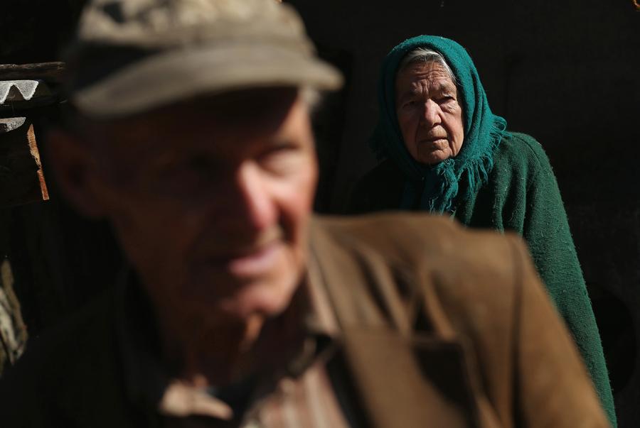 Жители которые отказались от эвакуации из чернобыльской зоны отчуждения.