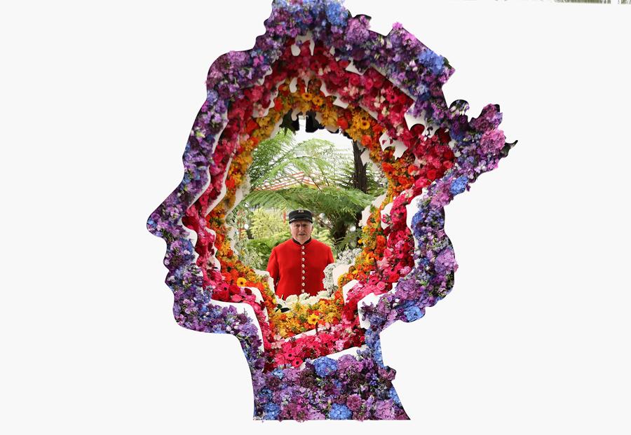 """Выставка цветов РХС """"Челси"""", 23 мая 2016 года в Лондоне, Англия."""