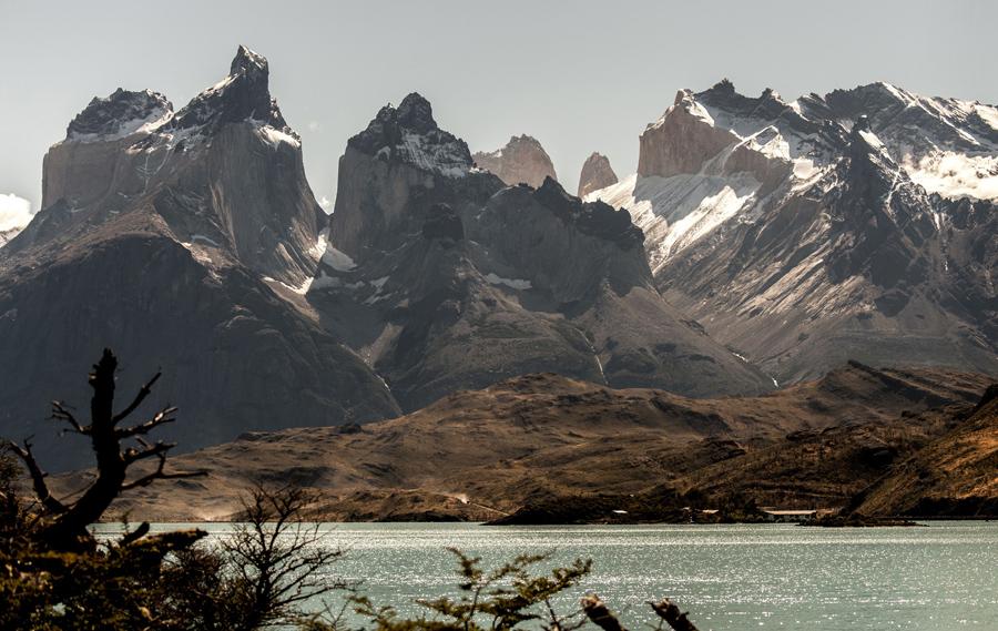 Национальный парк Торрес-дель-Пайне в чилийской Патагонии, 26 февраля 2016 года.