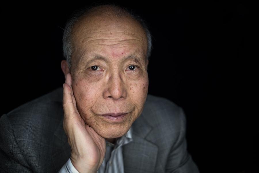 Шигеаки Мори (Shigeaki Mori), историк, переживший атомную бомбардировку Хиросимы, в своем доме, 26 мая 2016 года.