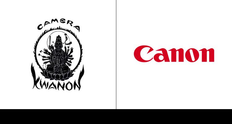 Лого бреда Canon был изначально разработан в 1933 году. Более простой вариант логотипа компания ввела в 1956 году.