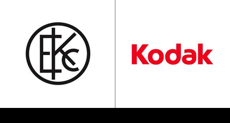 Первая версия логотипа Kodak 1907 год. Последнее изменение компания ввела в 2006 году.
