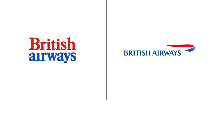 Логотип авиакомпании British Airways был разработан в 1973 году. Последний логотип был создан в 1997 году.