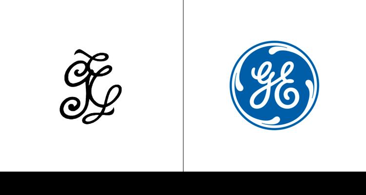 Обычный логотип General Electric впервые был разработан в 1892 году. Круг был добавлен в 1900 году, а его синий оттенок добавился в 2004 году.