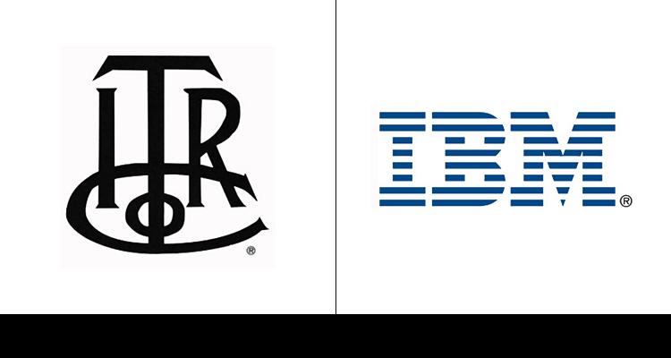 С момента основания, компания IBM прошла через значительные изменения бренда. Первый логотип разработали в 1889 году.