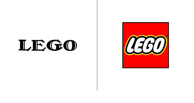 Первый логотип Lego был разработан в 1935 году. Современный логотип Lego создан в 1998 году.