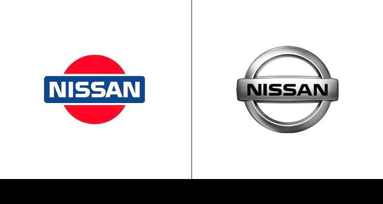 Логотип компании Nissan изначально был создан в 1983 году, когда  у компании Datsun появилось новое имя.