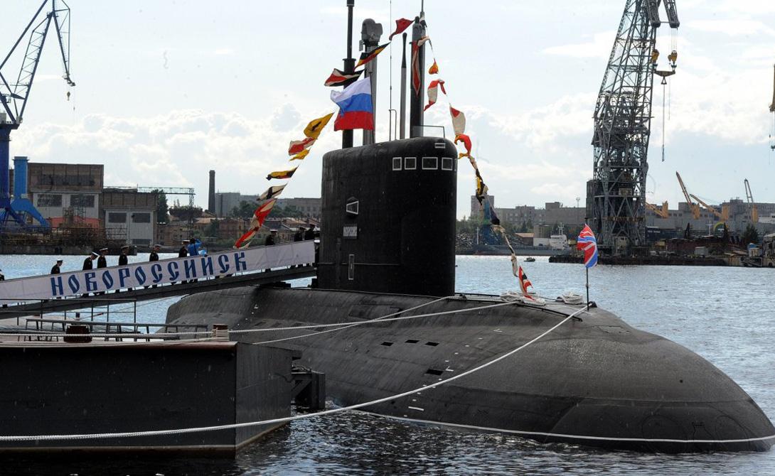 дизельная подводная лодка новороссийска