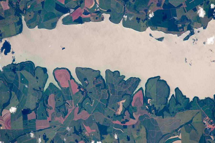 Бразильское озеро.