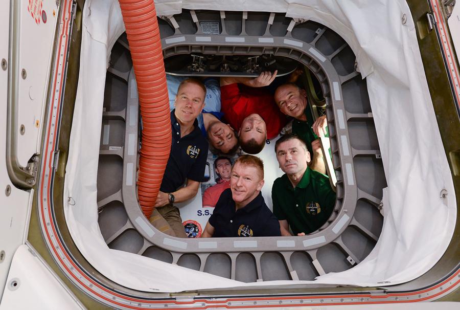 Все члены экипажа МКС, Май 2016