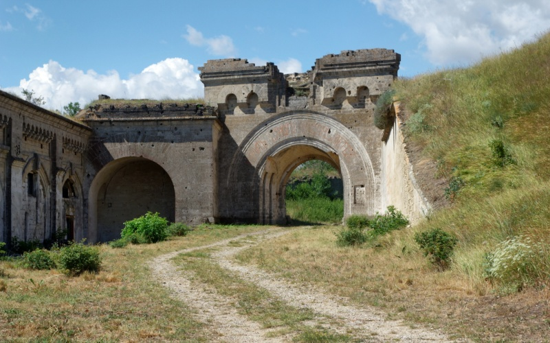 Крепость «Керчь» Форт Тотлебен