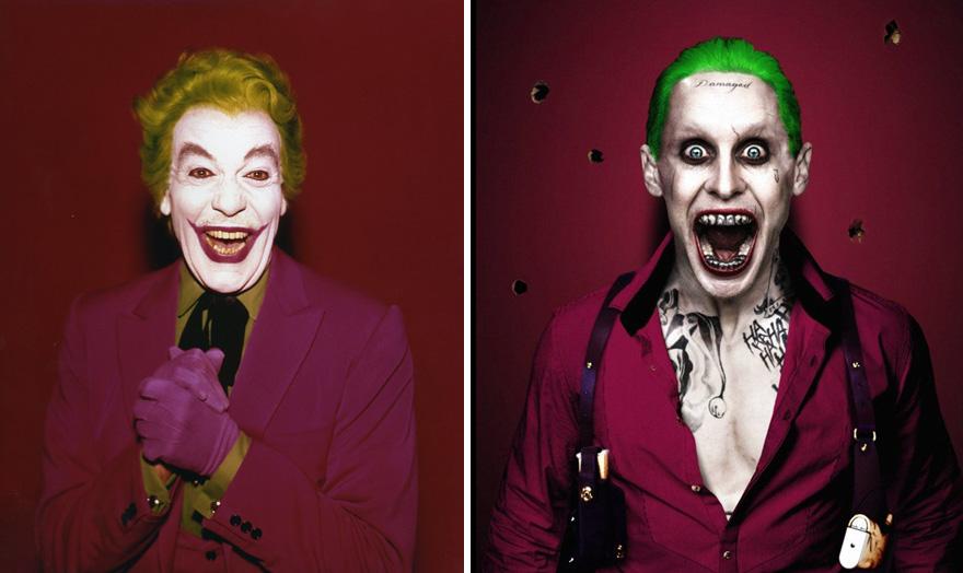 Джокер в 1966 и 2016 годах