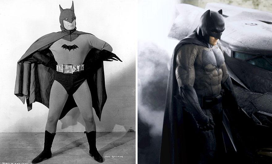 Бэтмен в 1943 и 2016 годах