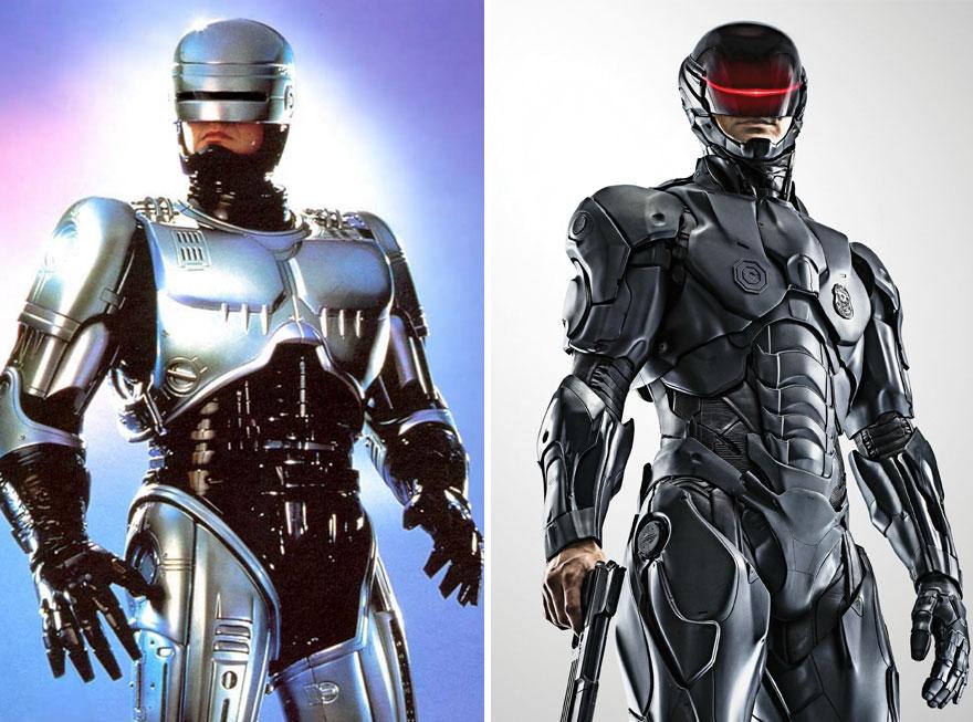 Робокоп в 1987 и 2014 годах