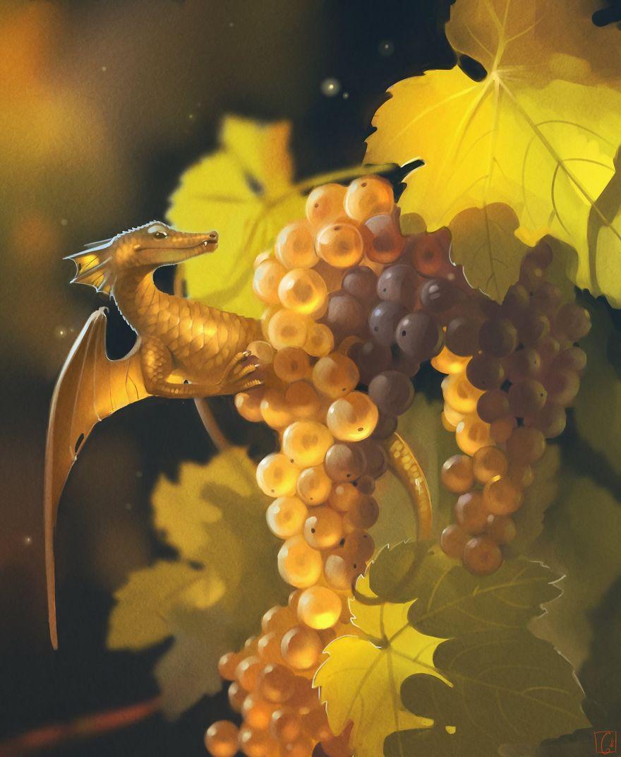 Виноградный дракон