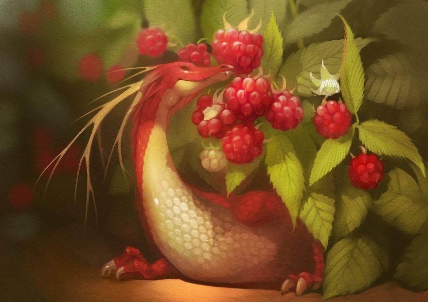 Малиновый дракон