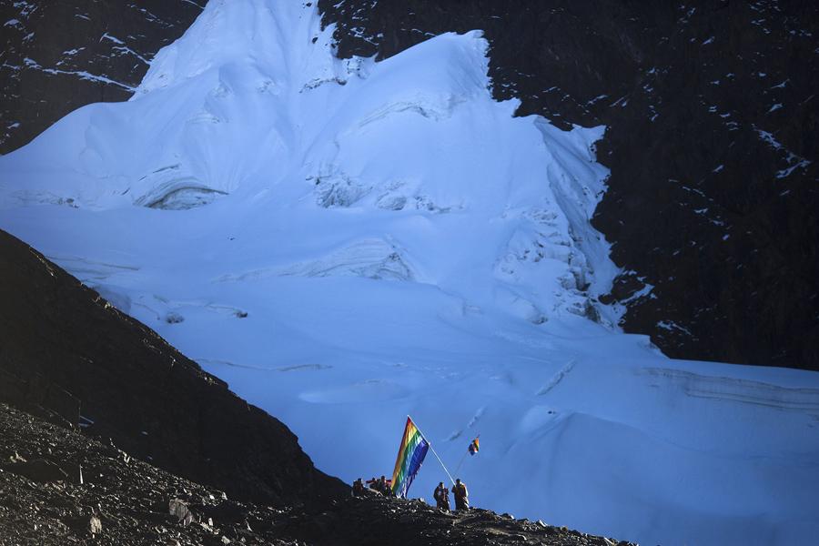 Тот самый знаменитый ледник.