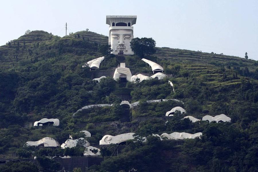 Город призраков Китай