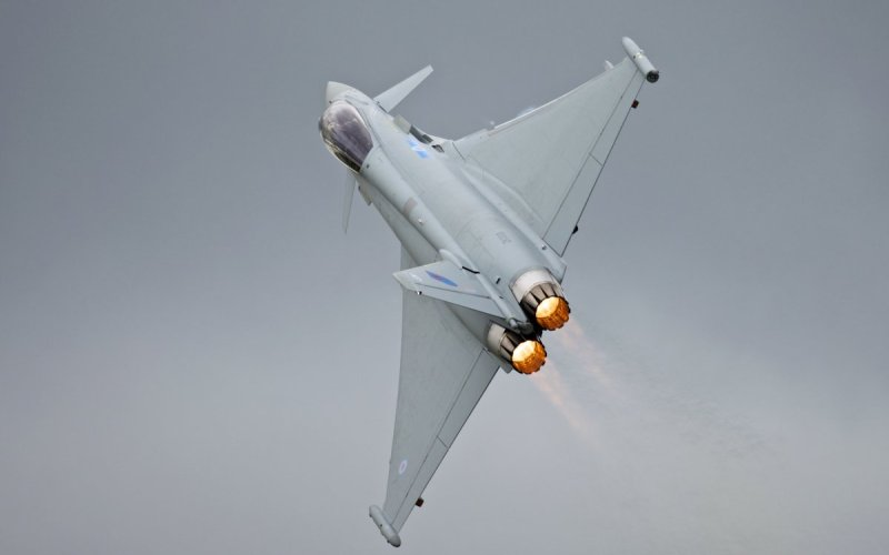 The Eurofighter Typhoon