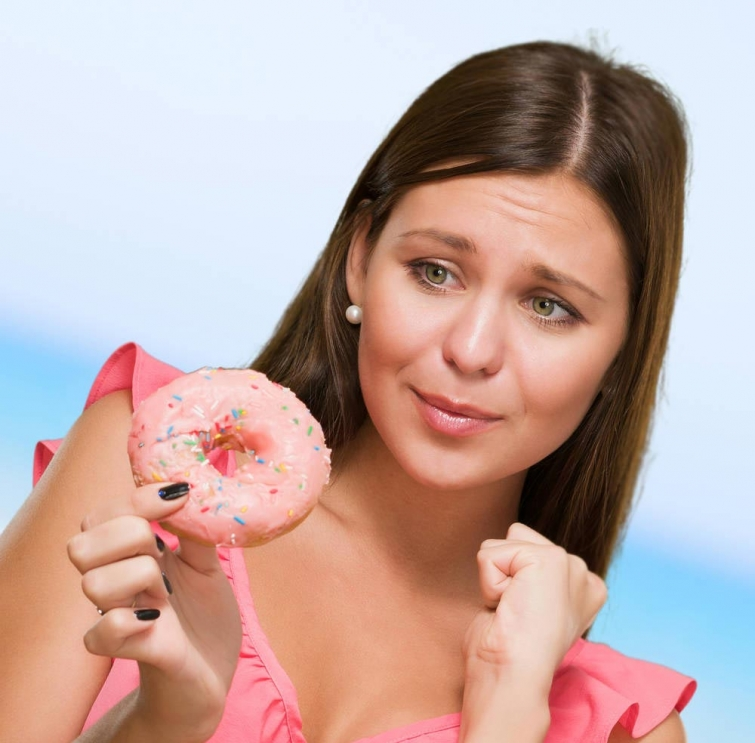 какие части тела полнеют от сладостей