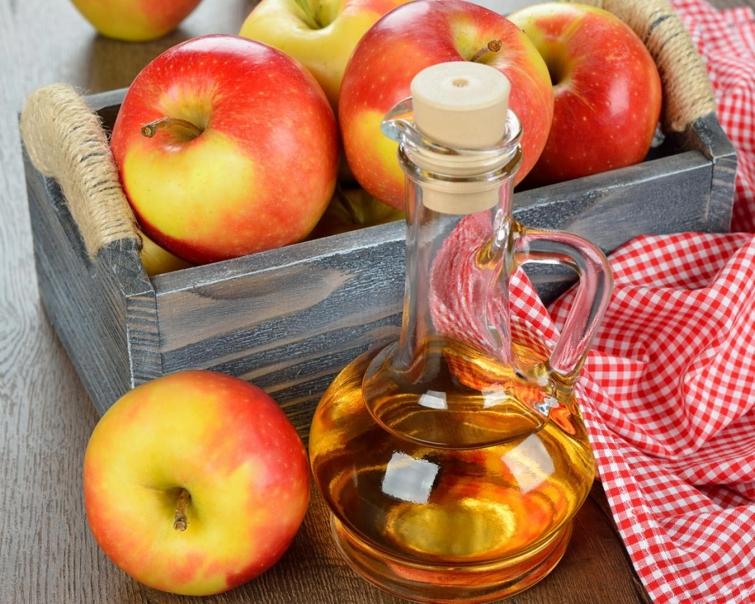 Яблочный уксус способствуют похудению