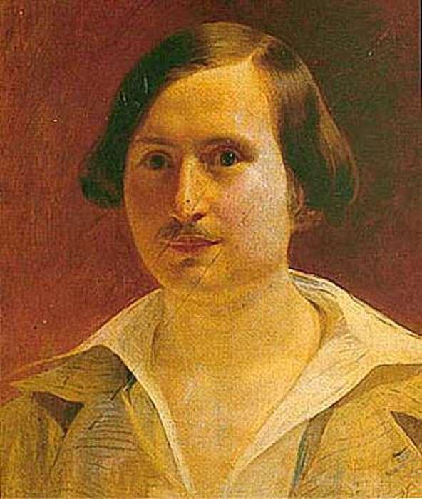 Ф. Моллер. Портрет Н. В. Гоголя, 1840