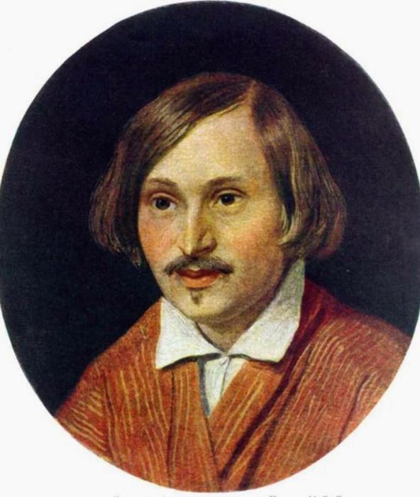 А. Иванов. Портрет Н. В. Гоголя, 1841