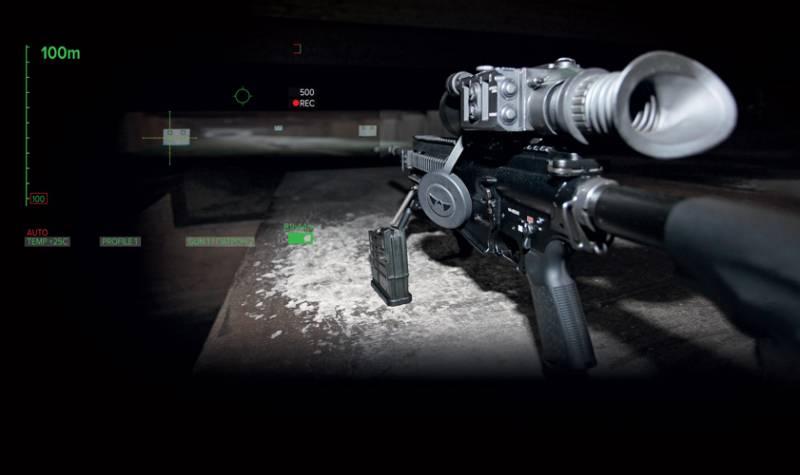 Стрельба с роботизированным тепловизионным прицелом напоминает компьютерную игру: экранное меню в поле зрения, минимум расчетов, моментальный replay (видеоповтор).